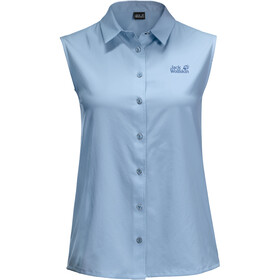 Jack Wolfskin Sonora Sleeveless Shirt Women ice blue